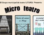 Microteatro en la Casa de la Cultura de Mengíbar, el 27 de junio de 2021