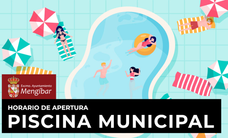 Horarios de la Piscina Municipal de Mengíbar y de los cursos de natación 2021