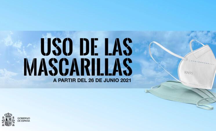 Coronavirus: Entra en vigor el nuevo Real Decreto sobre la flexibilización del uso de las mascarillas en espacios exteriores