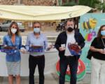Promoción de las cerezas jiennenses en Mengíbar con la IX Muestra Provincial de la Diputación