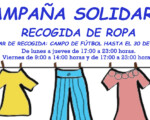 Campaña de recogida de ropa a beneficio de Cruz Roja Mengíbar