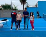 Entrega de los premios del Torneo de Tenis Ciudad de Mengíbar 2021