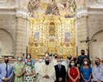 Feria de Mengíbar 2021: Misa en honor de Santa María Magdalena (fotos y vídeo)