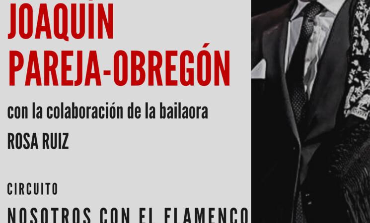 Espectáculo de Piano Flamenco, Sevillanas y Copla a cargo de Joaquín Pareja-Obregón y la bailaora Rosa Ruiz el 11 de septiembre en la plaza de la constitución.