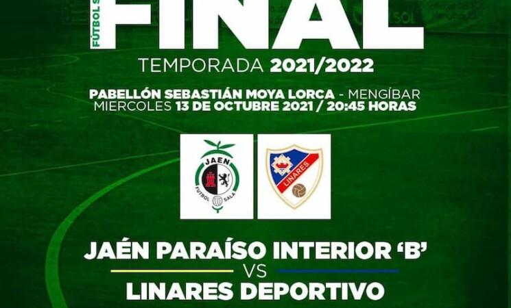Mengíbar acoge la final de la Copa Presidente Diputación de fútbol sala hoy, 13 de octubre de 2021