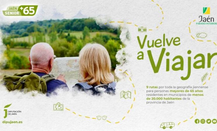 Diputación de Jaén publica la resolución provisional de plazas del programa Jaén Senior +65
